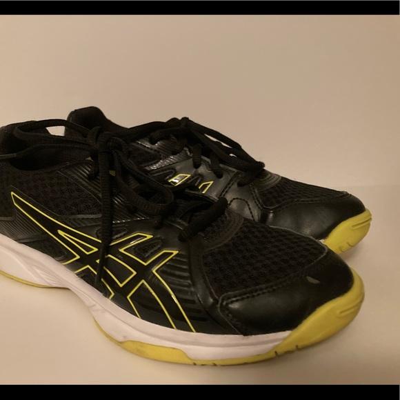 Asics Shoes | Girls Blackgreen Athletic